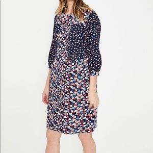 NWT Boden Hotchpotch Dress, size US 10L